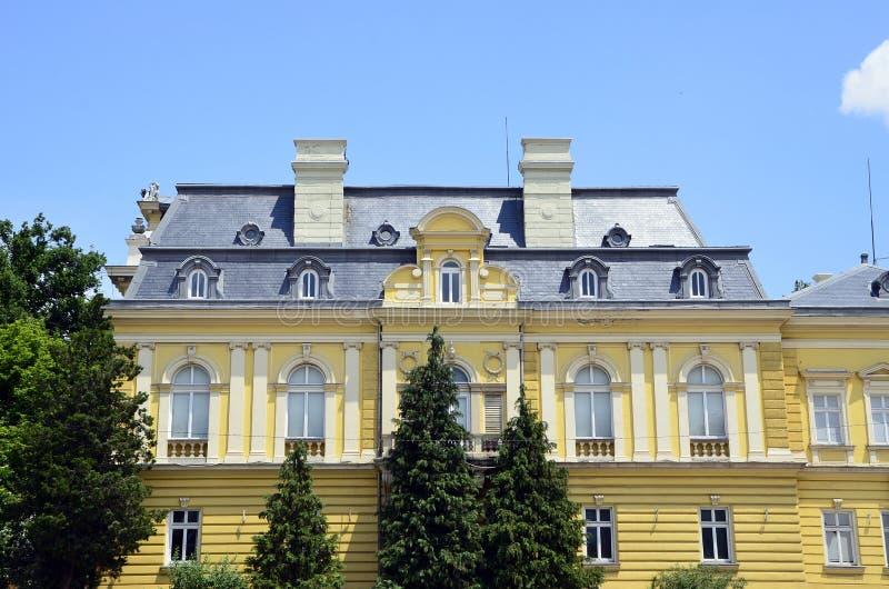 Το εθνικό γκαλερί τέχνης στη Sofia στοκ εικόνες
