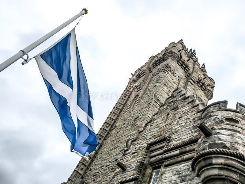 Το εθνικό μνημείο Wallace, Stirling, Σκωτία στοκ φωτογραφία με δικαίωμα ελεύθερης χρήσης