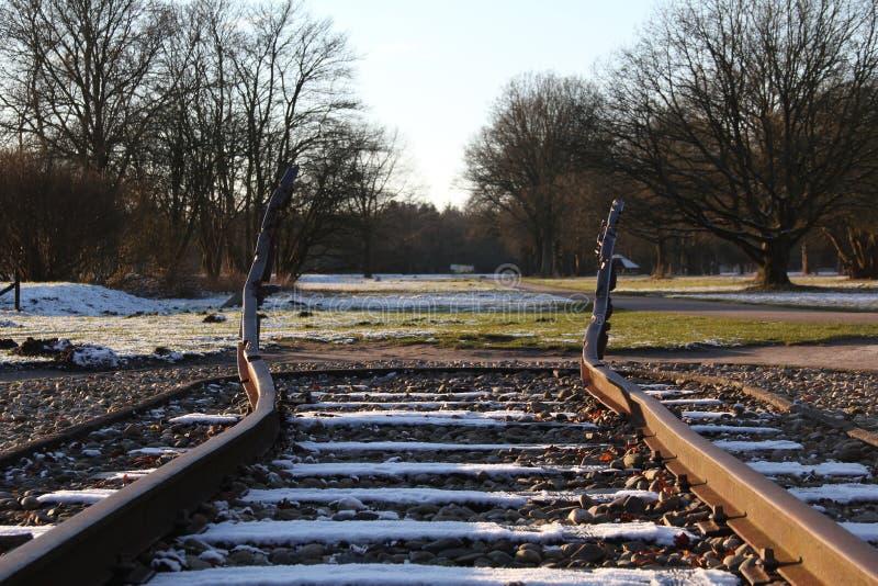 Το εθνικό μνημείο Westerbork στοκ φωτογραφία με δικαίωμα ελεύθερης χρήσης