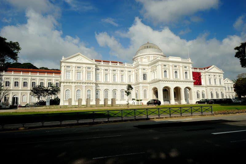 Το Εθνικό Μουσείο Σινγκαπούρης στοκ φωτογραφία με δικαίωμα ελεύθερης χρήσης