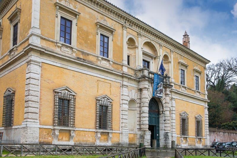 Το εθνικό μουσείο Etruscan είναι ένα μουσείο του Etruscan civiliz στοκ φωτογραφίες
