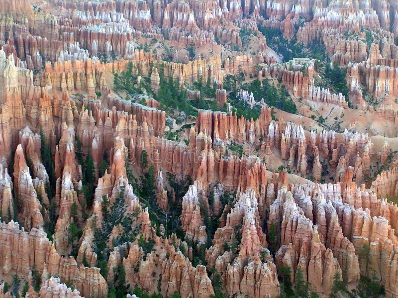 Τοπίο του εθνικού πάρκου φαραγγιών του Bryce, Γιούτα, ΗΠΑ στοκ εικόνα