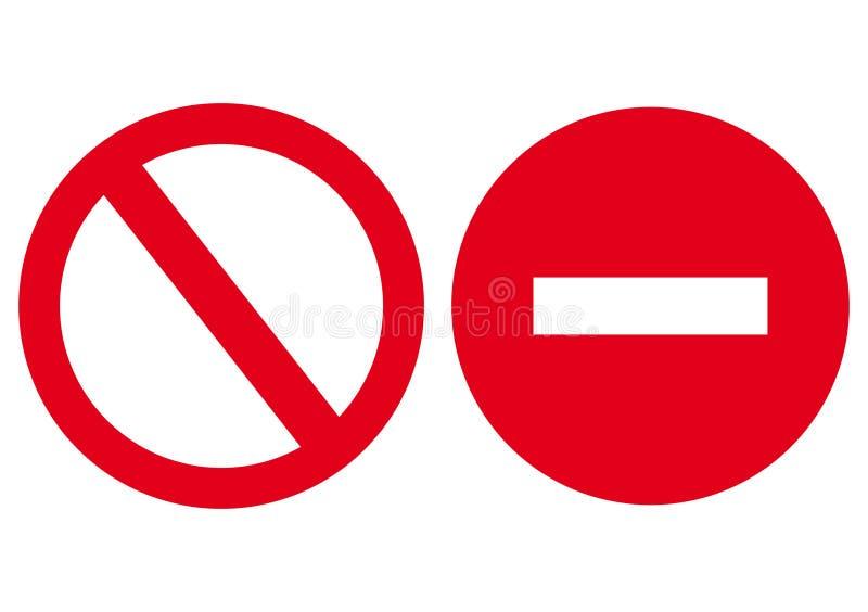 Το εικονίδιο είναι απαγορευμένο, κλειστός. απεικόνιση αποθεμάτων
