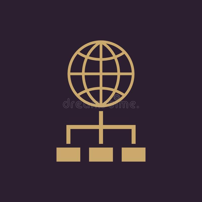 Το εικονίδιο SEO WWW και μηχανή αναζήτησης, ανάπτυξη, αναζήτηση, σύμβολο SEO Ui Ιστός ΛΟΓΟΤΥΠΟ Σημάδι Επίπεδο σχέδιο αποστολικό ελεύθερη απεικόνιση δικαιώματος