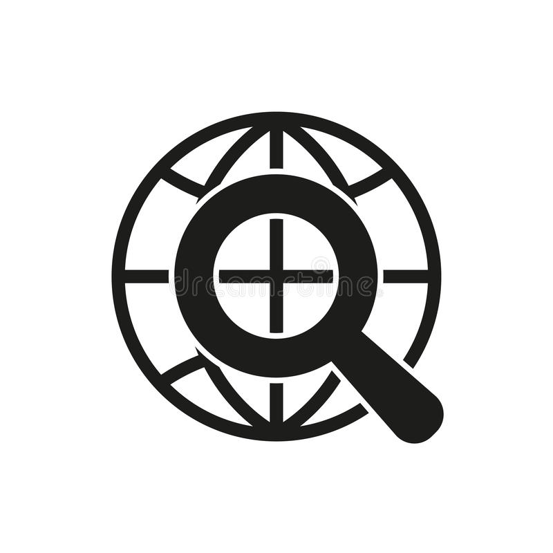 Το εικονίδιο SEO WWW και μηχανή αναζήτησης, ανάπτυξη, σύμβολο αναζήτησης Ui Ιστός ΛΟΓΟΤΥΠΟ Σημάδι Επίπεδο σχέδιο αποστολικό διανυσματική απεικόνιση