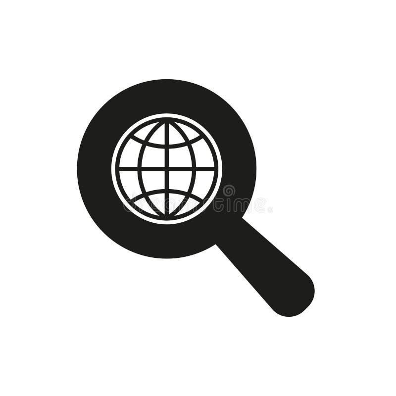 Το εικονίδιο SEO WWW και μηχανή αναζήτησης, σύμβολο ανάπτυξης Ui Ιστός ΛΟΓΟΤΥΠΟ Σημάδι Επίπεδο σχέδιο αποστολικό ελεύθερη απεικόνιση δικαιώματος