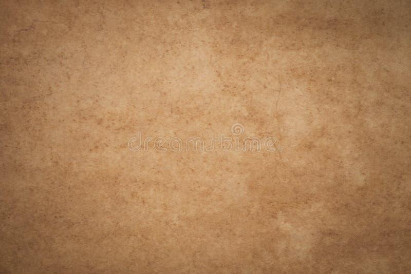 Το εκλεκτής ποιότητας καφετί έγγραφο με τις ρυτίδες, αφαιρεί τις παλαιές συστάσεις FO εγγράφου στοκ φωτογραφία με δικαίωμα ελεύθερης χρήσης