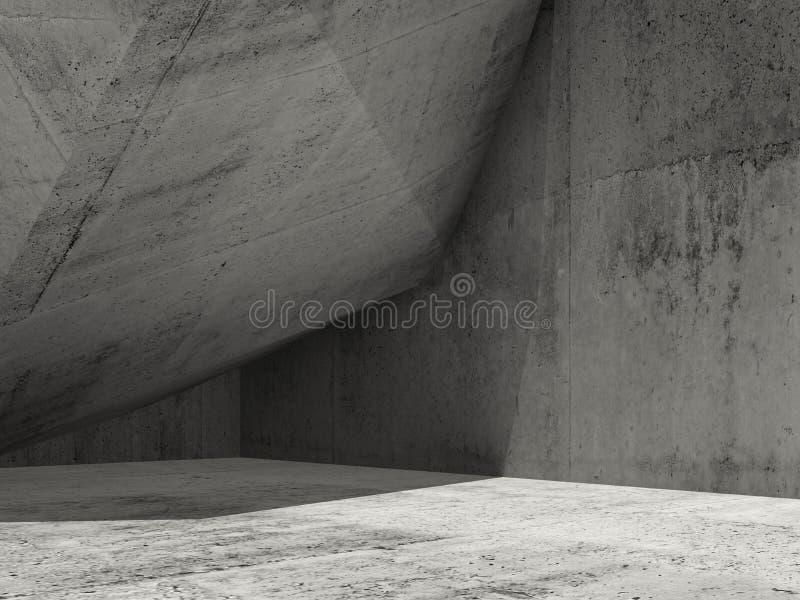 Το ελάχιστο υπόβαθρο αρχιτεκτονικής, τρισδιάστατο δίνει απεικόνιση αποθεμάτων