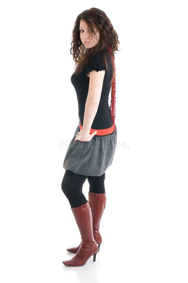 το ελκυστικό κορίτσι απ&om στοκ φωτογραφία με δικαίωμα ελεύθερης χρήσης