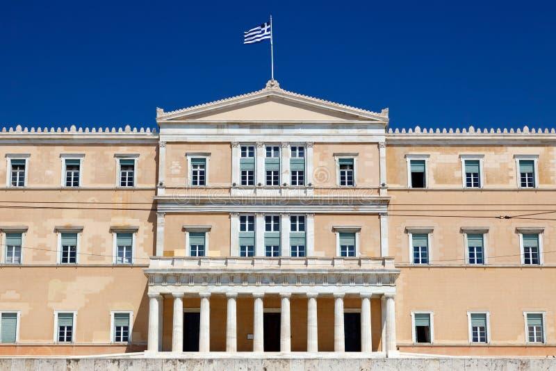 το ελληνικό Κοινοβούλι στοκ εικόνες με δικαίωμα ελεύθερης χρήσης