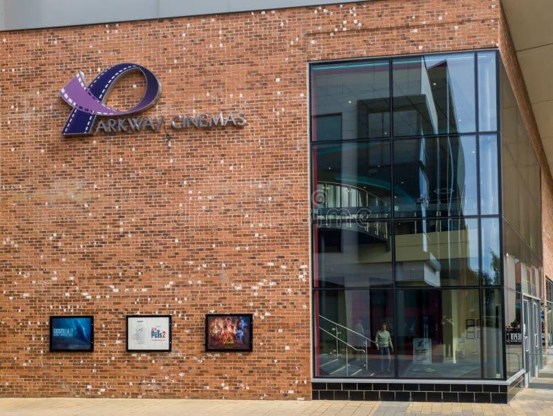 Το εξωτερικό του κινηματογράφου χώρων στάθμευσης στη Beverley στοκ εικόνες με δικαίωμα ελεύθερης χρήσης