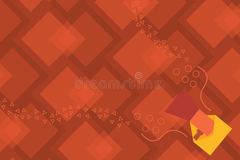 Το επίπεδο κενό πρότυπο επιχειρησιακής διανυσματικό απεικόνισης σχεδίου απομόνωσε ESP το μινιμαλιστικό γραφικό πρότυπο σχεδιαγράμ απεικόνιση αποθεμάτων
