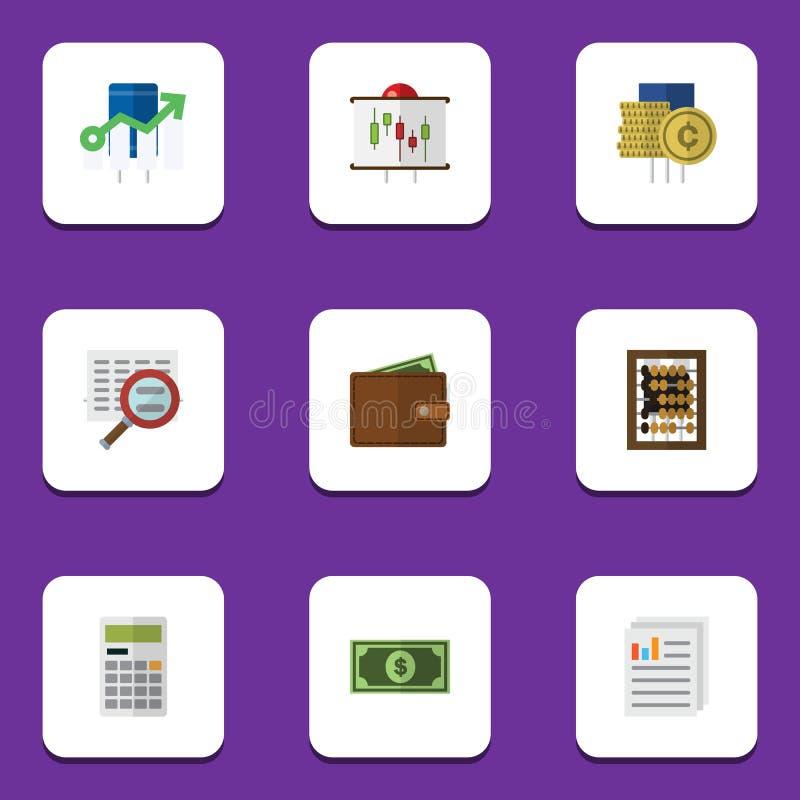 Το επίπεδο σύνολο κέρδους εικονιδίων μετρητών, υπολογίζει, χαρτονόμισμα και άλλα διανυσματικά αντικείμενα Επίσης περιλαμβάνει τη  ελεύθερη απεικόνιση δικαιώματος