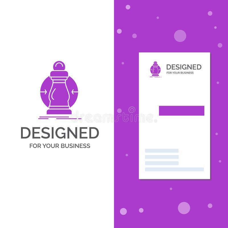 Το επιχειρησιακό λογότυπο για την κατανάλωση, κόστος, δαπάνη, χαμηλότερη, μειώνει Κάθετο πορφυρό πρότυπο καρτών επιχειρήσεων/επίσ απεικόνιση αποθεμάτων
