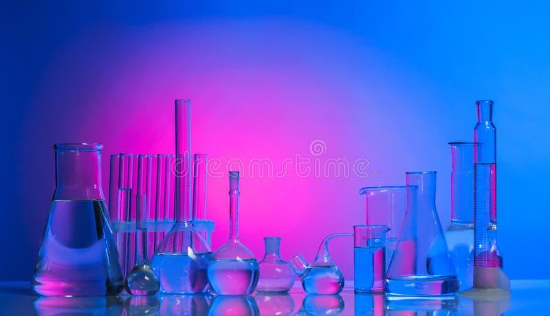Το εργαστηριακό γυαλί στοκ φωτογραφίες