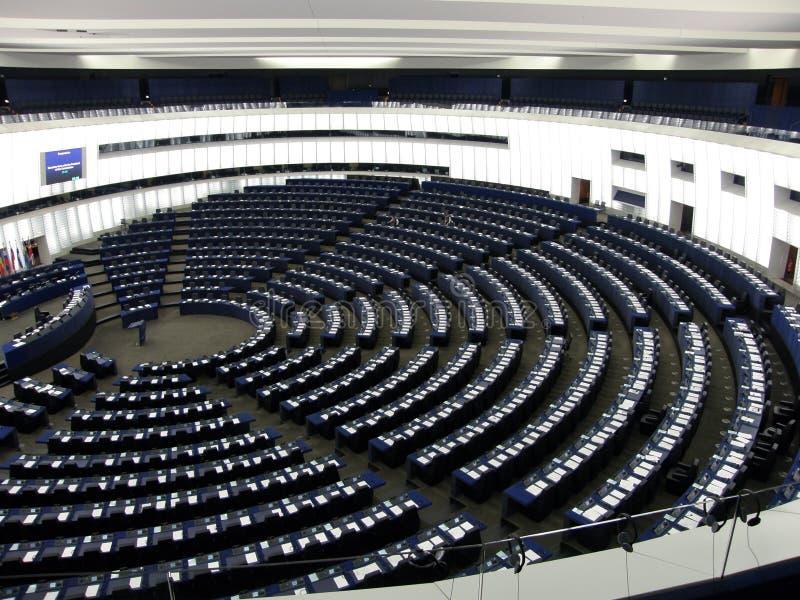 το εσωτερικό Κοινοβού&lambda στοκ εικόνες με δικαίωμα ελεύθερης χρήσης