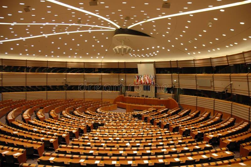 το Ευρωπαϊκό Κοινοβούλιο στοκ εικόνα
