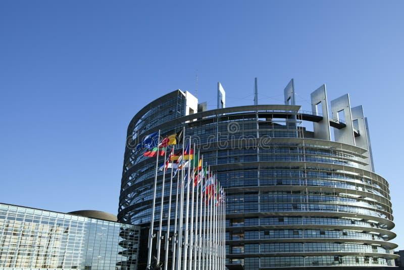 το Ευρωπαϊκό Κοινοβούλι στοκ φωτογραφία