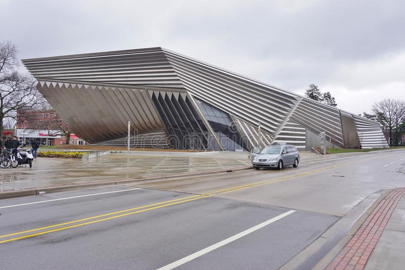 Το ευρύ μουσείο στο πανεπιστήμιο Πολιτεία του Michigan στοκ φωτογραφία με δικαίωμα ελεύθερης χρήσης