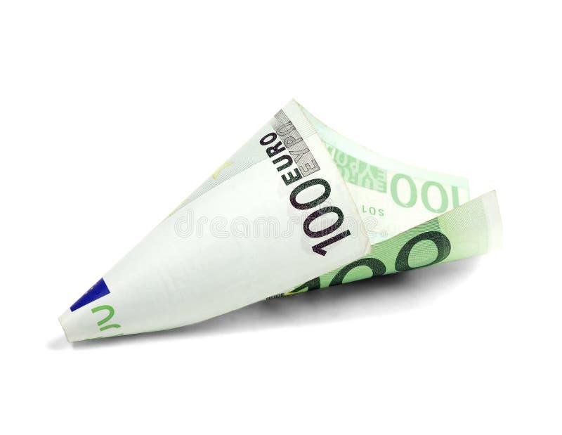το ευρώ ένα λογαριασμών στοκ φωτογραφία με δικαίωμα ελεύθερης χρήσης