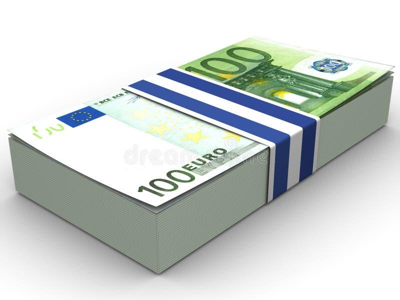 το ευρώ διανυσματική απεικόνιση