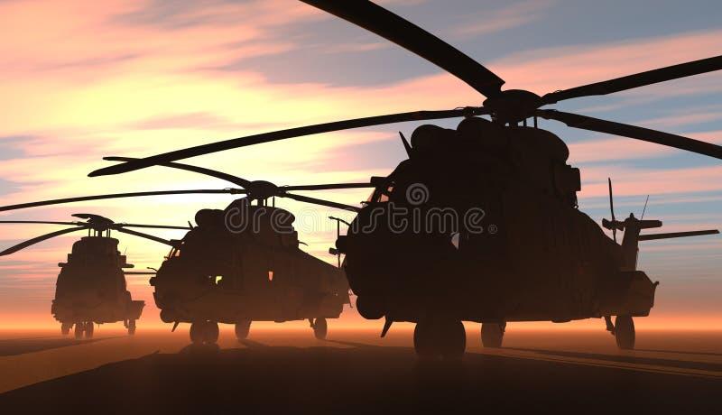 Το ελικόπτερο ελεύθερη απεικόνιση δικαιώματος