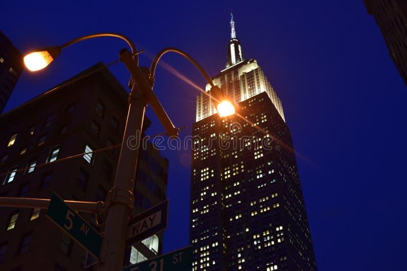Το Εmpire State Building στοκ φωτογραφία με δικαίωμα ελεύθερης χρήσης