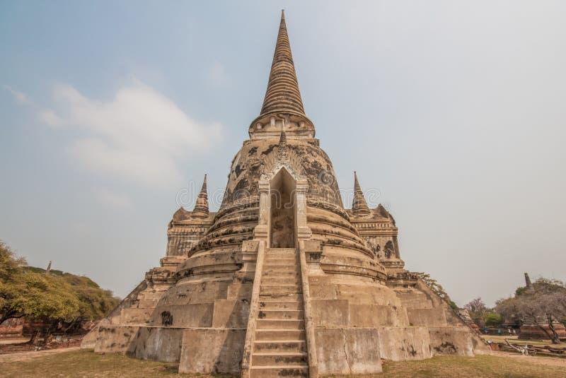 Το ζαλίζοντας ιστορικό πάρκο Ayutthata, Ταϊλάνδη στοκ φωτογραφία με δικαίωμα ελεύθερης χρήσης