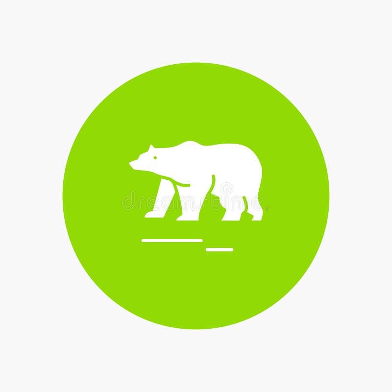 Το ζώο, αντέχει, πολικός, Καναδάς διανυσματική απεικόνιση