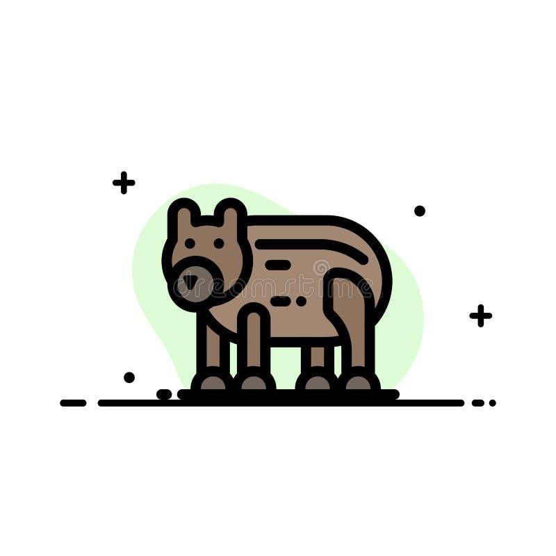 Το ζώο, αντέχει, πολικός, του Καναδά πρότυπο εμβλημάτων επιχειρησιακών επίπεδο γεμισμένο γραμμή εικονιδίων διανυσματικό διανυσματική απεικόνιση
