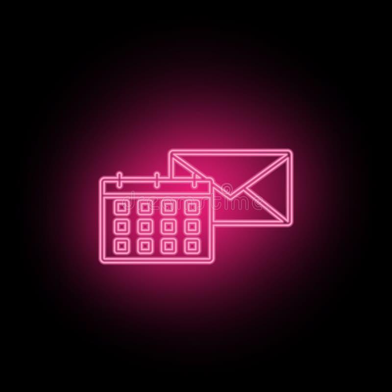 Το ημερολόγιο, θέση, εικονίδιο νέου μπορεί να χρησιμοποιηθεί για να επεξηγήσει τα θέματα για τη βελτιστοποίηση SEO, analytics στο διανυσματική απεικόνιση