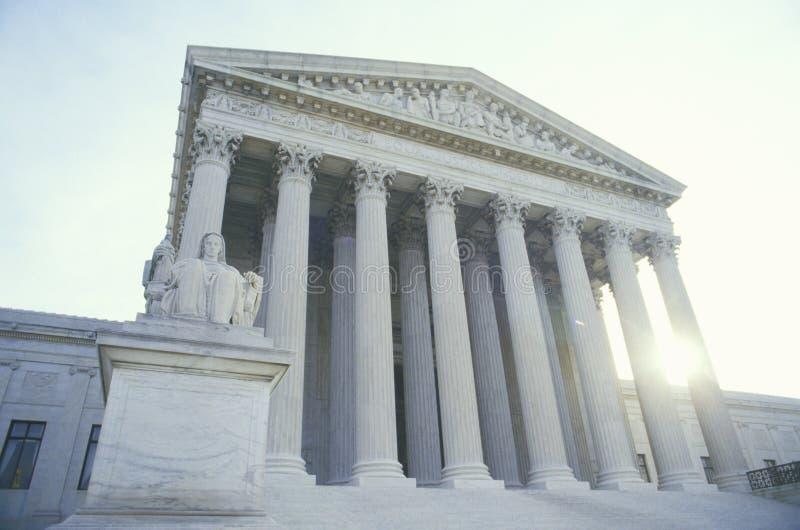 Το Ηνωμένο ανώτατο δικαστήριο στοκ φωτογραφία