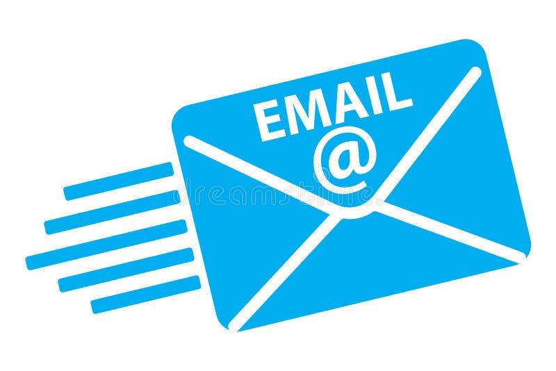 το ηλεκτρονικό ταχυδρομείο τυλίγει το εικονίδιο ταχυδρομεί την ανοικτή λήψη διανυσματική απεικόνιση