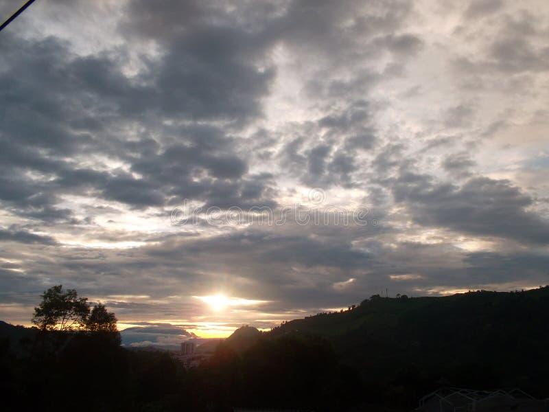 Το ηλιοβασίλεμά μας στοκ φωτογραφία με δικαίωμα ελεύθερης χρήσης