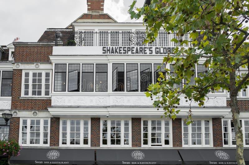 Το θέατρο σφαιρών, Λονδίνο στοκ φωτογραφία
