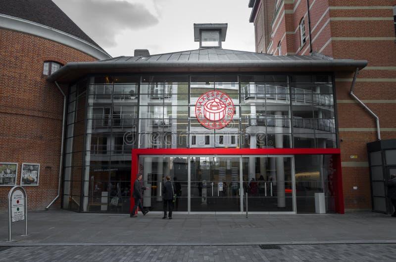 Το θέατρο σφαιρών, Λονδίνο στοκ εικόνα με δικαίωμα ελεύθερης χρήσης