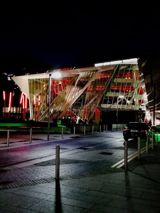 Το θέατρο Bord Gais στοκ φωτογραφία με δικαίωμα ελεύθερης χρήσης