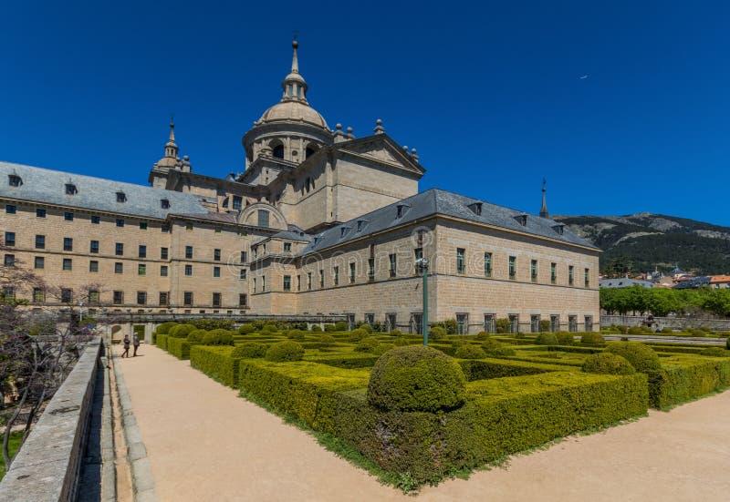 Το θαυμάσιο μοναστήρι EL Escorial, Ισπανία στοκ εικόνες