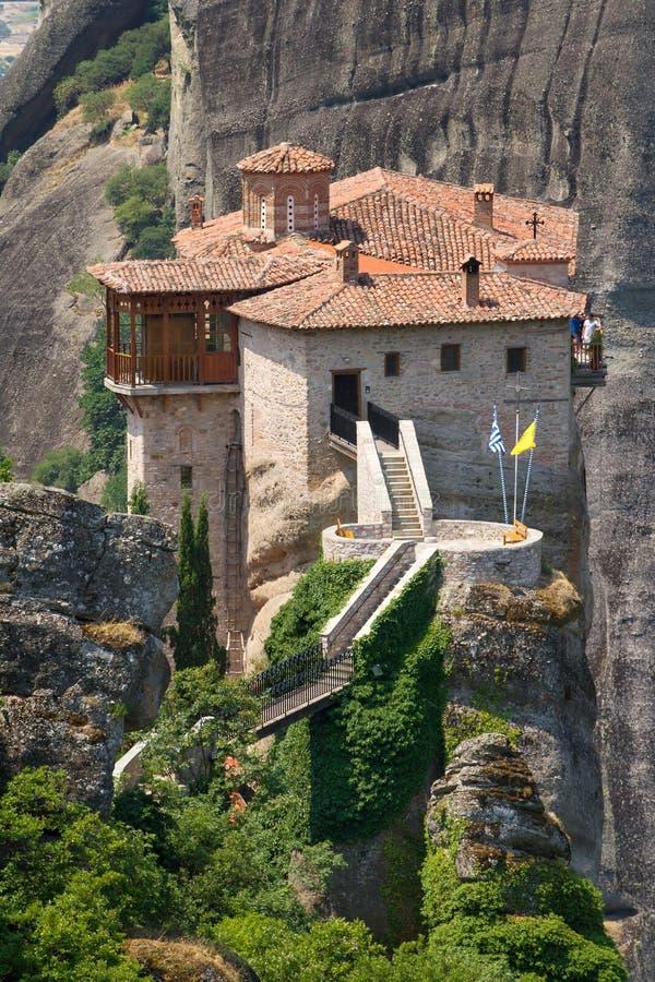 Το ιερό μοναστήρι Rousanou στοκ εικόνα