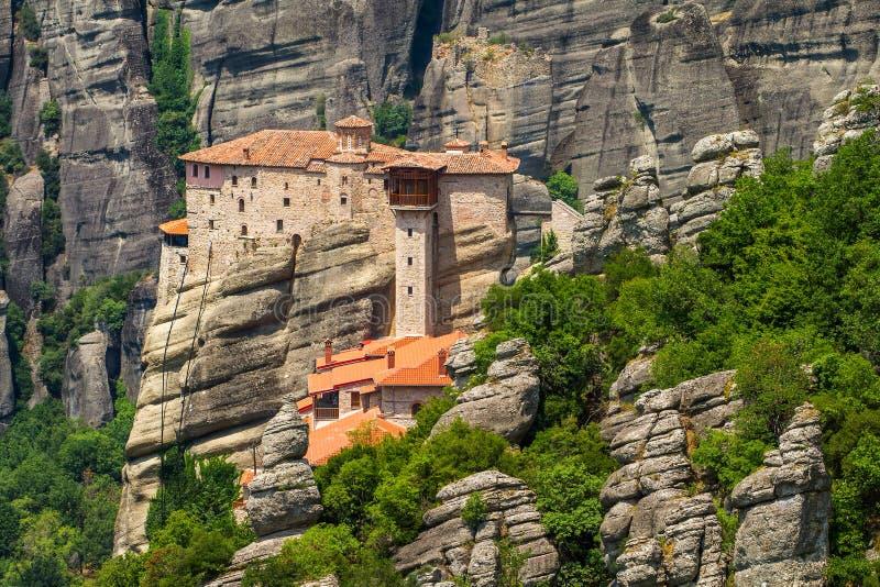 Το ιερό μοναστήρι Rousanou στοκ φωτογραφία με δικαίωμα ελεύθερης χρήσης