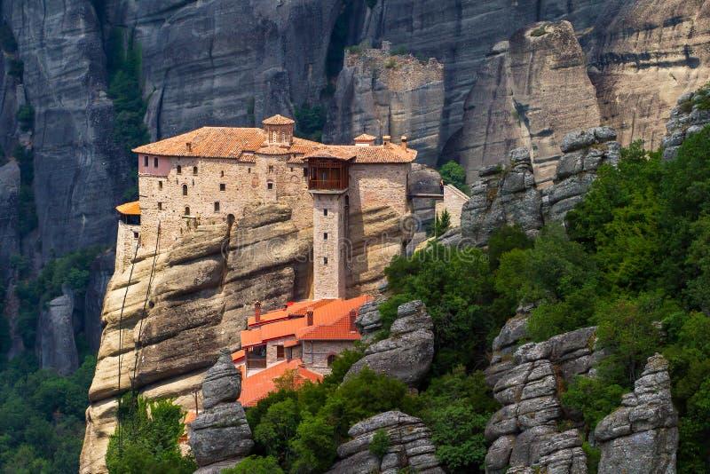 Το ιερό μοναστήρι Rousanou στοκ εικόνες