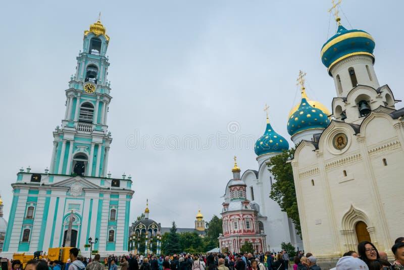 Το ιερό τριάδα-ST Sergius Lavra σε Sergiyev Posad, Ρωσία στοκ φωτογραφίες