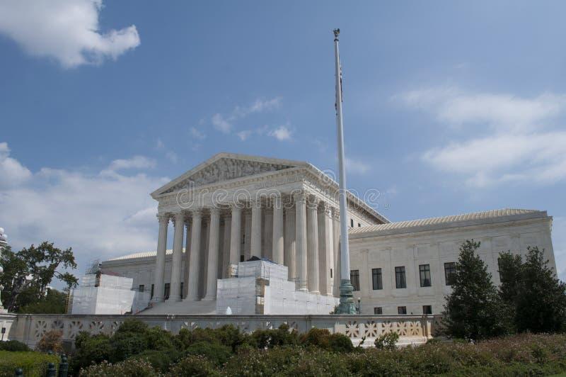 το δικαστήριο δηλώνει ανώτατο ενωμένο στοκ φωτογραφίες