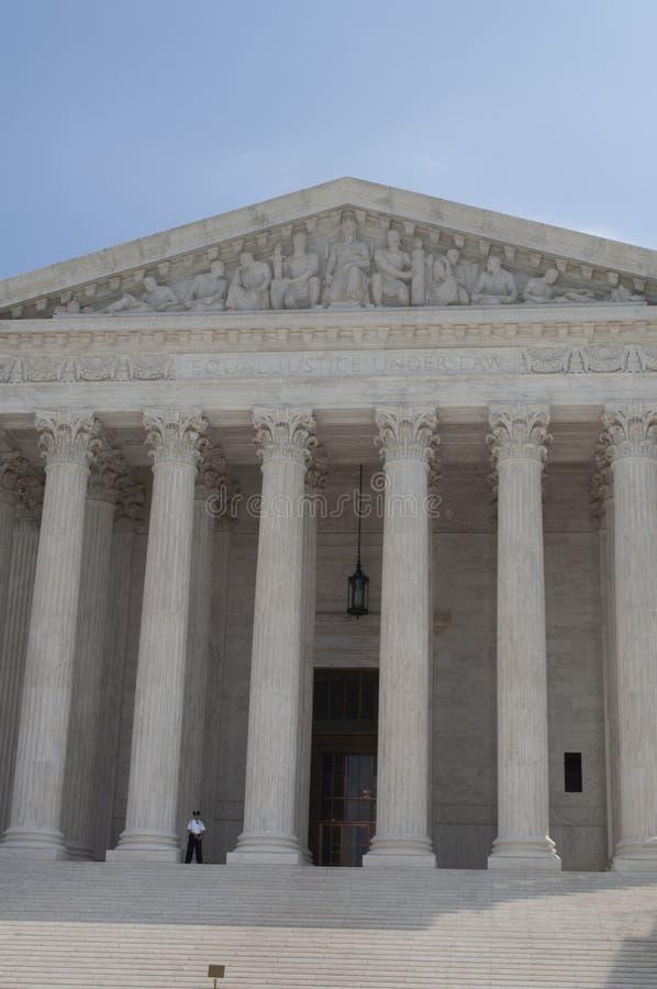 το δικαστήριο δηλώνει ανώ& στοκ φωτογραφίες