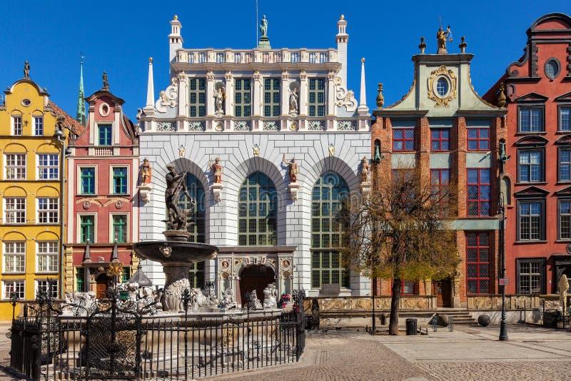 Το δικαστήριο Artus στο Γντανσκ στοκ φωτογραφία με δικαίωμα ελεύθερης χρήσης