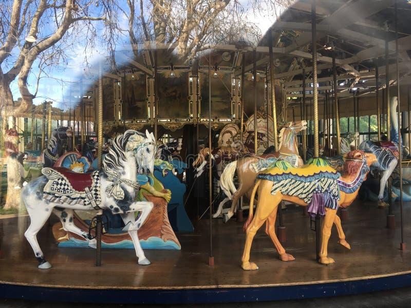 Το ιπποδρόμιο herschel-Spillman στην παιδική χαρά παιδιών ` s Koret, χρυσό πάρκο πυλών, 8 στοκ φωτογραφίες με δικαίωμα ελεύθερης χρήσης