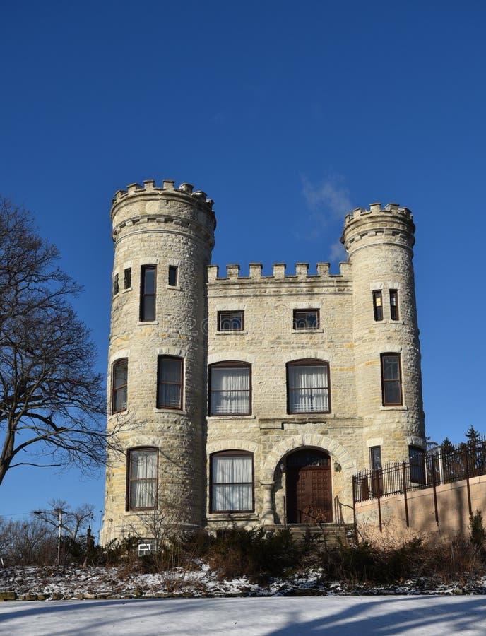 Το ιρλανδικό Castle του Σικάγου στοκ φωτογραφίες με δικαίωμα ελεύθερης χρήσης