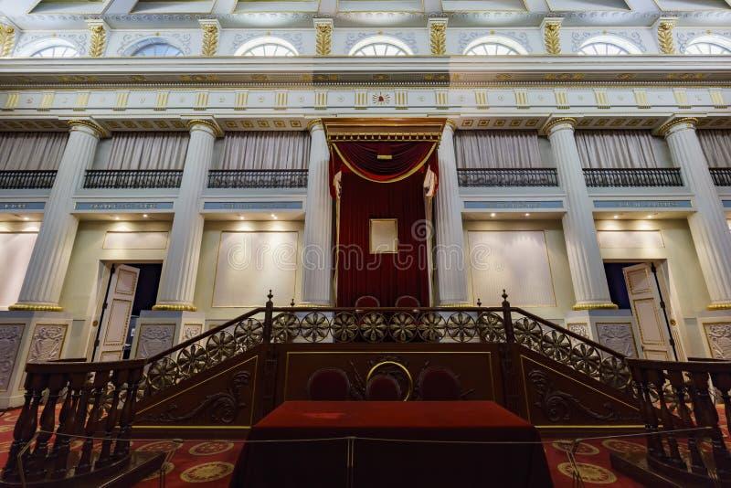 Το ιστορικό εθνικό παλάτι στοκ φωτογραφία με δικαίωμα ελεύθερης χρήσης