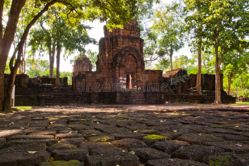 το ιστορικό πάρκο mueang τραγο& στοκ φωτογραφίες