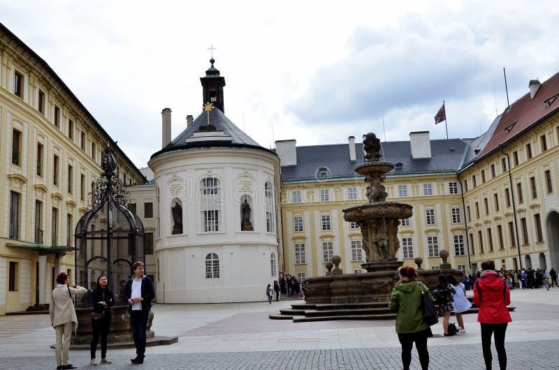 Το ιστορικό Castle της Πράγας στοκ φωτογραφίες